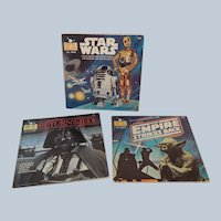 Three Star Wars Books and Records