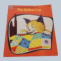 A Golden Fuzzy Wuzzy Book The Yellow Cat