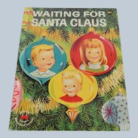 Wonder Book Waiting For Santa Claus
