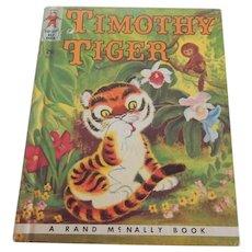 Tip Top Elf Timothy Tiger Book