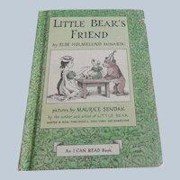 Little Bear's Friend by Else Homelund Minarik