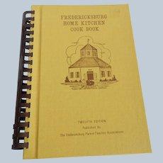 1957 Fredericksburg Home Kitchen Cook Book