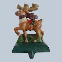 Midwest Eddie Bauer Reindeer Stocking Holder