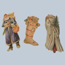 3 Die Cut Christmas Ornaments Shackman / Merrimack
