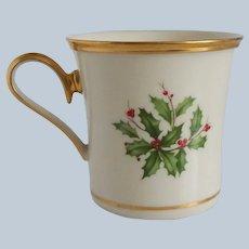 Lenox Christmas Holiday Porcelain Mug