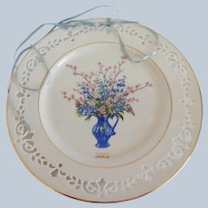 Lenox Colonial Bouquet Delaware Plate