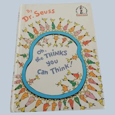 Dr. Seuss Oh, the Thinks you Can Think!