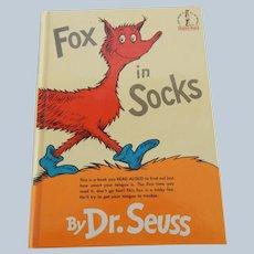 Dr. Seuss Fox in Socks
