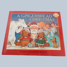A Gingerbread Christmas  By Tim Raglin and Eric Metaxas