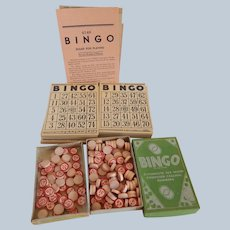 Bingo Cards and Embossed Calling Numbers