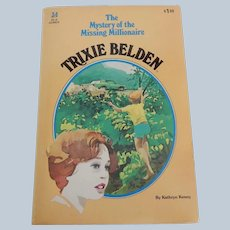 Trixie Belden The Mystery of the Missing Millionaire