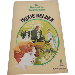 Trixie Belden The Mystery of the Univited Guest