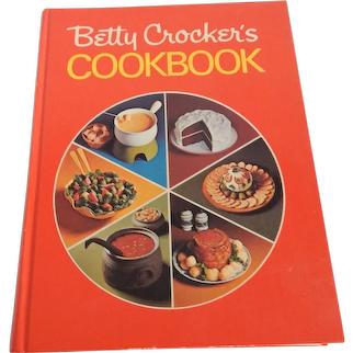 Betty Crocker's Cookbook  1971