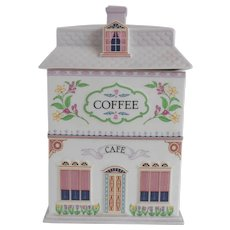 Lenox Village Coffee Canister