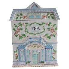 Lenox Village Tea Canister