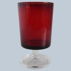 Cristal D'Arques Cavalier Water Goblet