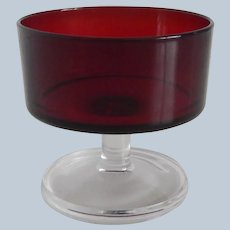 Cristal D'Arques Cavalier Sherbet