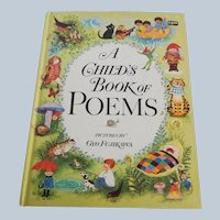A Child's Book Of Poems Pictures by Gyo Fujikawa