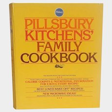 Pillsbury Kitchens Family Cookbook 1979