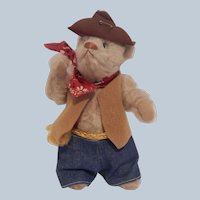 Linda Spiegel Sutter Creek Sam Western Teddy Bear