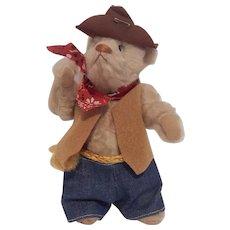 Linda Spiegel Sutter Creek Sam Western Teddy Bear