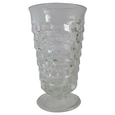 Whitehall Crystal Tumbler By Indiana Glass