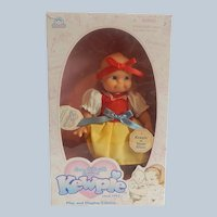 Kewpie Doll As Snow White