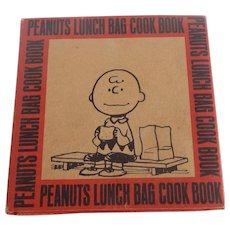 Peanuts Lunch Bag Cook Book Cartoons by Charles M. Schulz