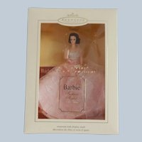 Hallmark Keepsake In The Pink Barbie Christmas Ornament