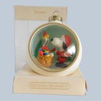 Hallmark Keepsake Snoopy and Friends 1983 Ornament