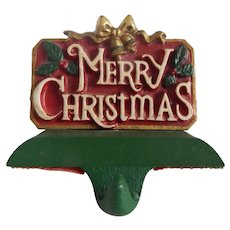 Midwest Of Cannon Falls Merry Christmas Stocking Holder