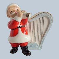 Ceramic Christmas Santa Claus Planter