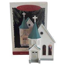 Hallmark Keepsake  Ornament Town Church