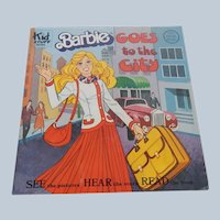 Barbie Goes to the City Book and Record