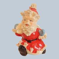 Ceramic Spaghetti Santa Claus