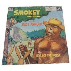Smokey The Bear RCA Victor Bluebird Children's Records