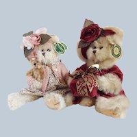 Two Bearington Bears Daisy and Virginia
