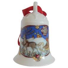 Hetschenreuther Weihnachts Glocke 1978 Bell