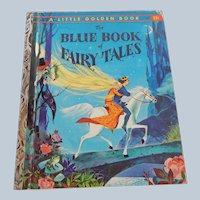 The Blue Book Of Fairy Tales Little Golden Book