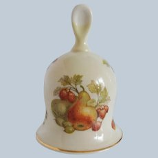Royal Worcester Company Palissy Fruit Bell