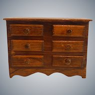 Chest Of Drawers Doll House Furniture
