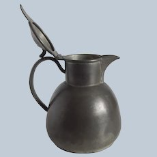 W. S. CO. Pewter Syrup Pitcher