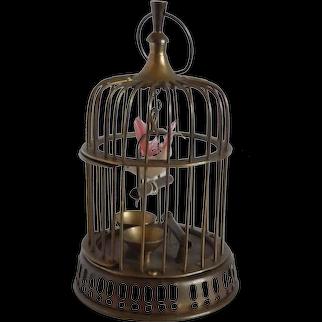 Decorative Miniature Brass Bird Cage India