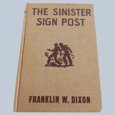 Hardy Boys The Sinister Sign Post
