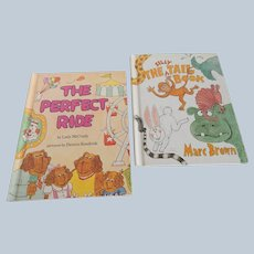 Silly The Tail Book and The Perfect Ride