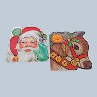The Reindeer Book & The Santa Claus Book