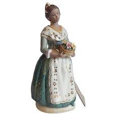 Spain Arman Porcelain Lady Figurine