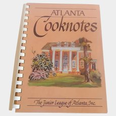 The Junior League Atlanta Cooknotes  Cookbook