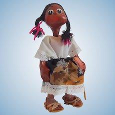 Mexican Folk Art  Doll