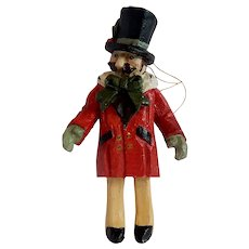 House of Hatten Victorian Style Caroler Christmas Ornament